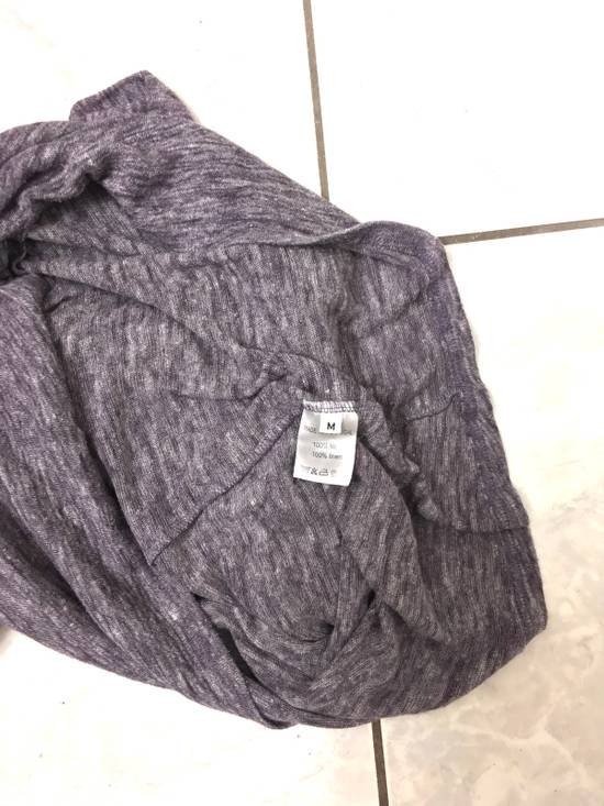 Balmain Balmain Paris Lavender Crewneck Linen Long Sleeve Shirt Size US L / EU 52-54 / 3 - 6