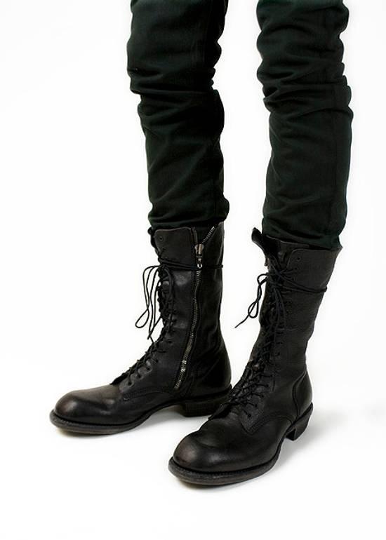 Julius f/w09 Tall Combat Boots Black Size US 11 / EU 44 - 13
