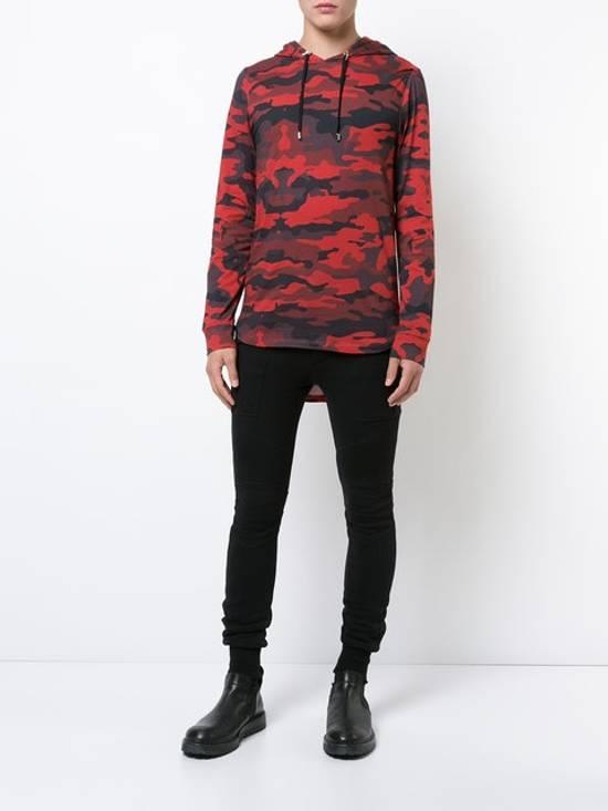 Balmain Balmain Red Camo Hoodie Size US M / EU 48-50 / 2 - 1