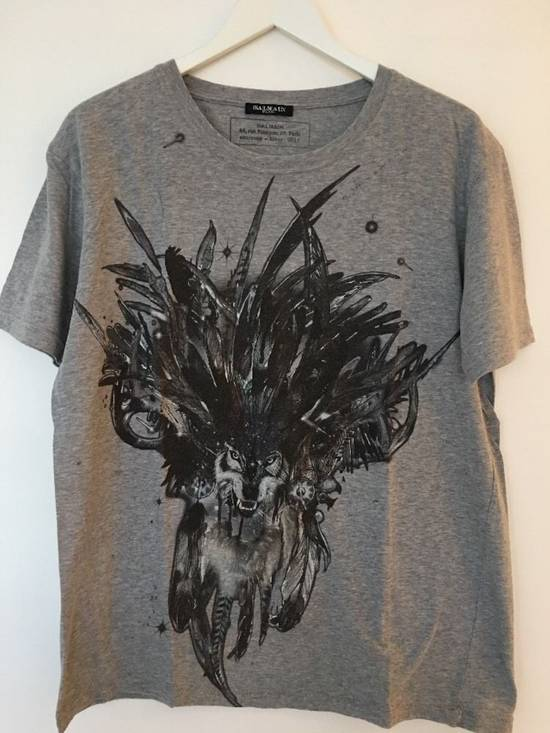 Balmain RARE Wolf Shirt from FW2011 Size US M / EU 48-50 / 2