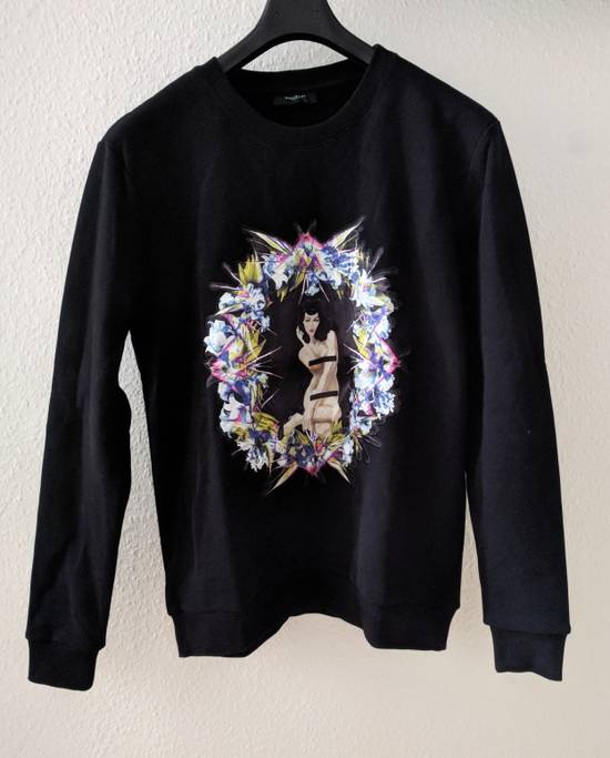 Givenchy Pin Up and Wreath Applique Sweatshirt Size US S / EU 44-46 / 1 - 1