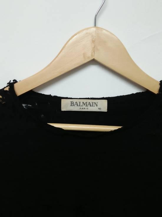 Balmain Balmain Paris destroyed long sleeve Size US XXS / EU 40 - 1