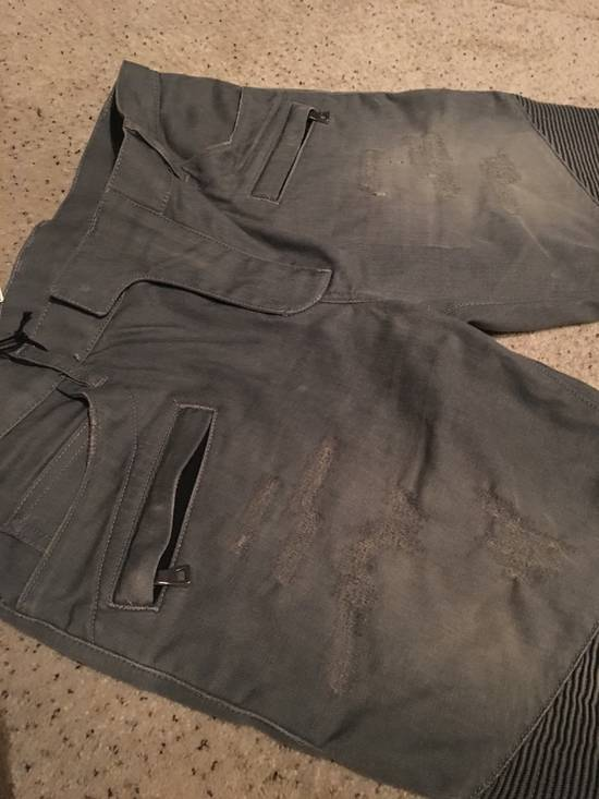 Balmain Balmain grey biker jeans Size US 34 / EU 50 - 2