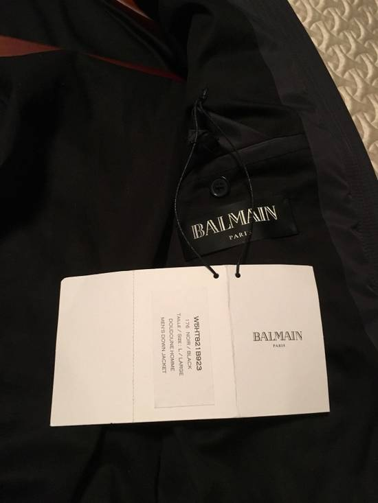 Balmain Balmain black leather jacket Size US M / EU 48-50 / 2 - 5