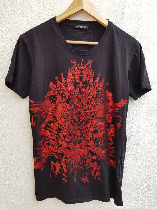 Balmain Balmain Paris Heatwave Automne-Hiver 2015 T-Shirt Size US XS / EU 42 / 0 - 1