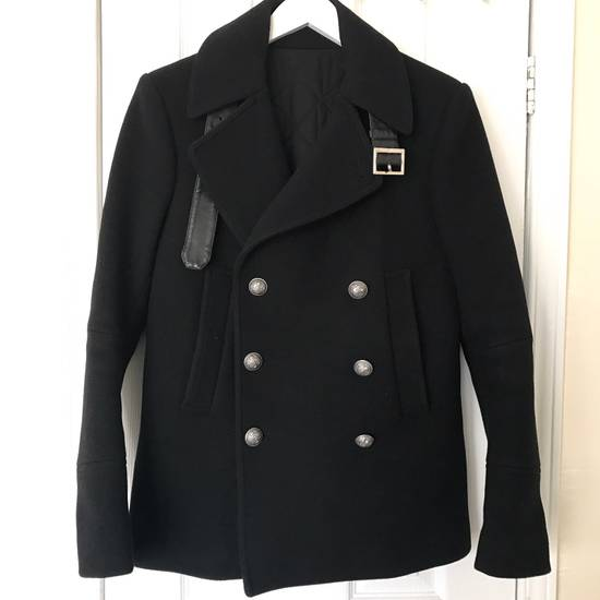 Balmain Wool-Blend Peacoat Size US S / EU 44-46 / 1 - 1