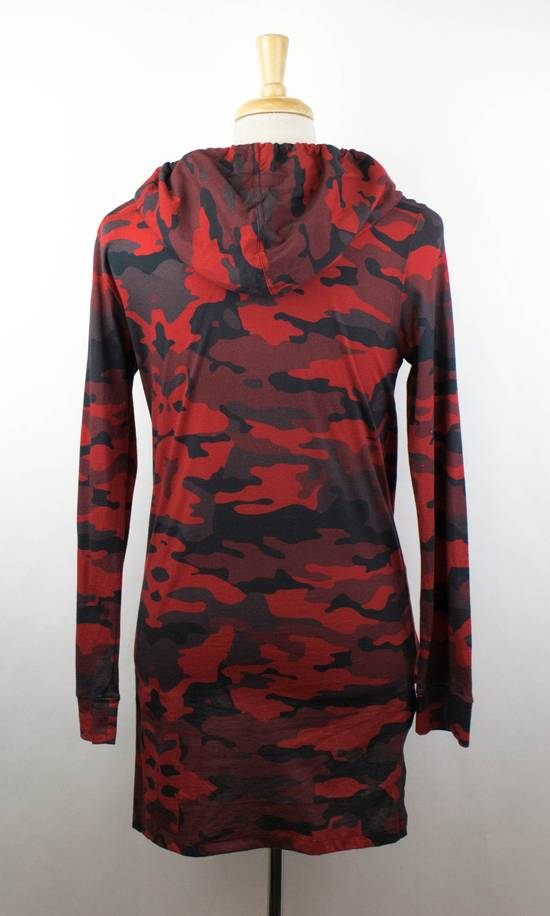 Balmain Red Camouflage Cotton Hoodie Sweatshirt Shirt Size Medium Size US M / EU 48-50 / 2 - 2