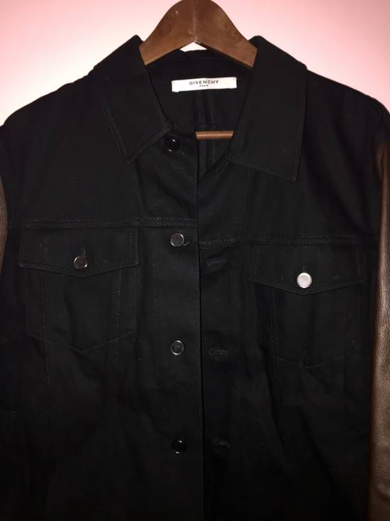 Givenchy Denim and Leather Jacket Size US L / EU 52-54 / 3 - 1