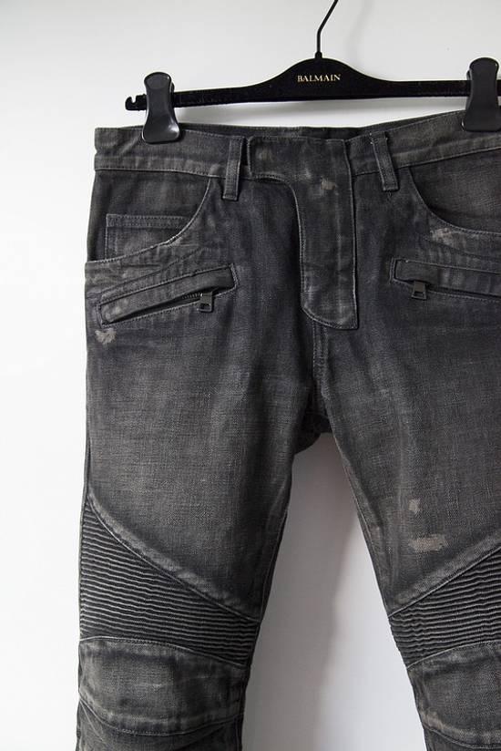 Balmain Selvedge biker denim jeans Size US 29 - 1