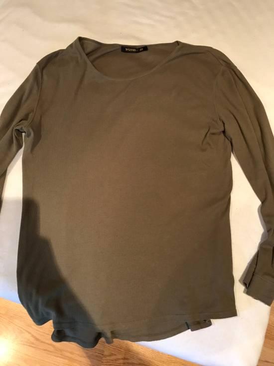 Balmain H&M x Balmain Long Sleeve Basic T-Shirt Size US M / EU 48-50 / 2