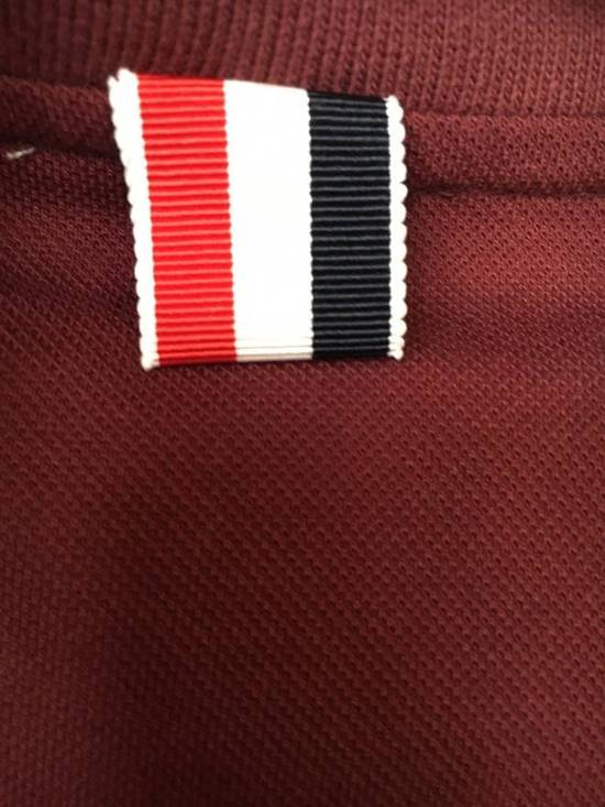 Thom Browne Red Polo worn once Size US M / EU 48-50 / 2 - 4