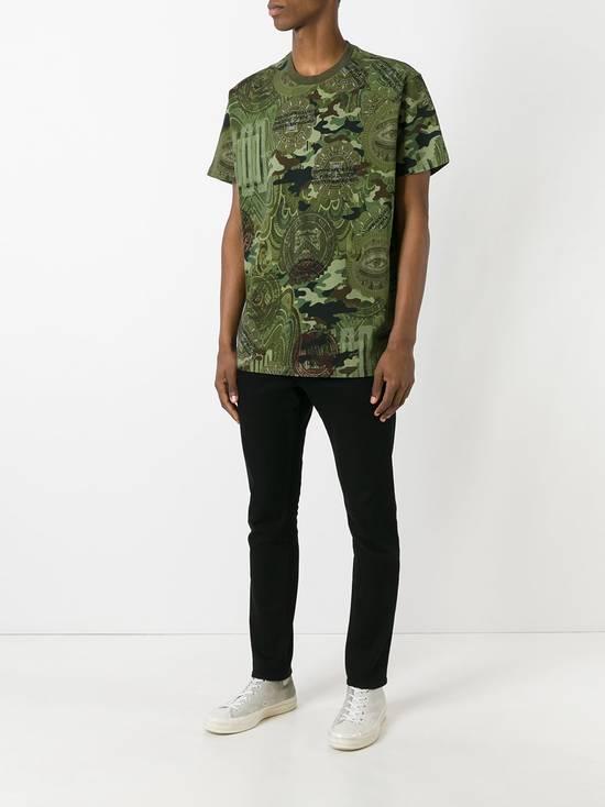 Givenchy $835 Givenchy Camouflage Eye Rottweiler Madonna Oversized T-Shirt size S (L / XL) Size US L / EU 52-54 / 3 - 4