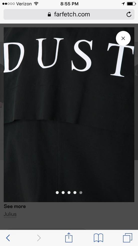 Julius BLACK JULIUS_7 DOUBLE SLEEVE 'DUST' PRINT BOMBER JACKET SIZE 3 Size US L / EU 52-54 / 3 - 13