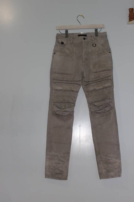Julius Julius 7 Stacked Biker Denim Size US 30 / EU 46