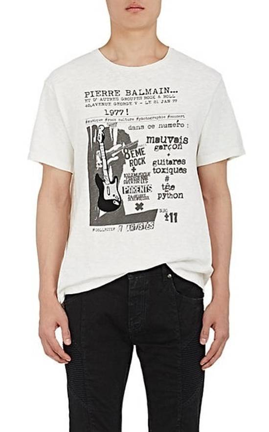 Balmain Balmain Rick And Roll Graphic Tee Size US XL / EU 56 / 4