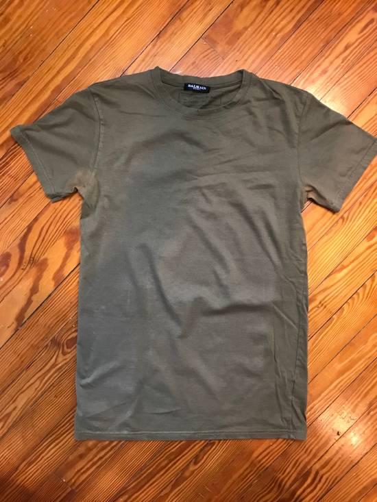 Balmain Army Green T-Shirt Size US S / EU 44-46 / 1 - 1