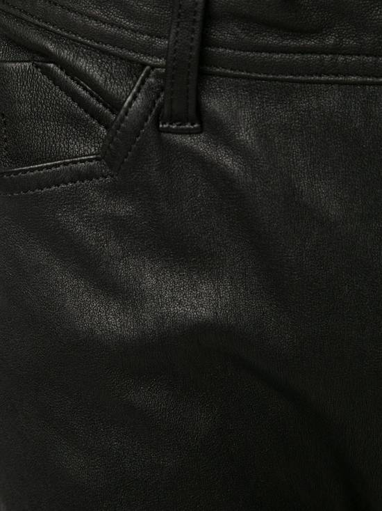 Julius Deerskin Leather Biker Pants Size US 30 / EU 46 - 10