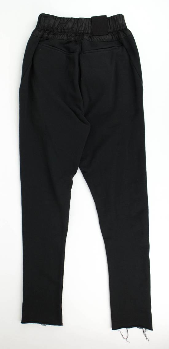Julius 7 Black Cotton Unfinished Hem Sweatpants Pants Size 1/XS Size US 30 / EU 46 - 1