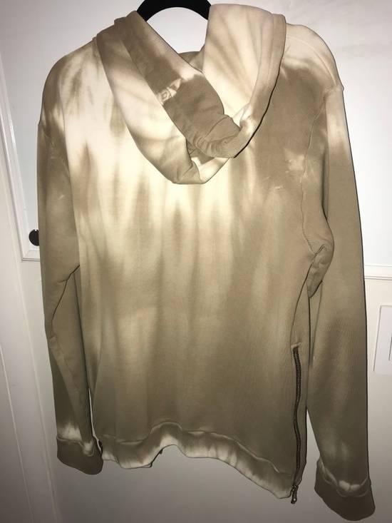 Balmain Creme Tie-Dye Zip Up Hoodie Size US L / EU 52-54 / 3 - 1