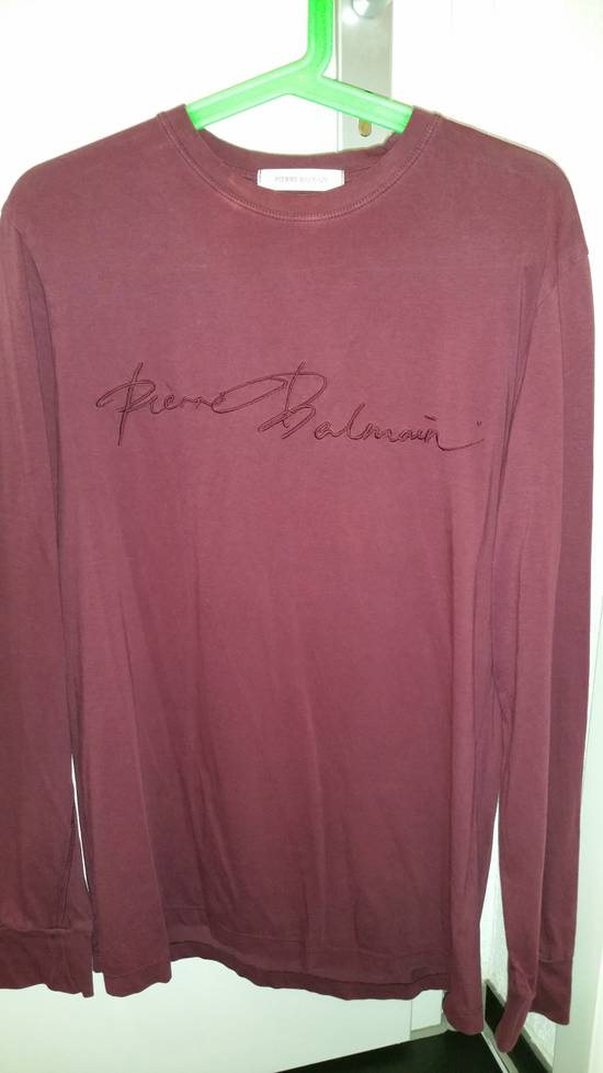 Balmain BALMAIN BORDEAUX RED SHIRT Size US S / EU 44-46 / 1