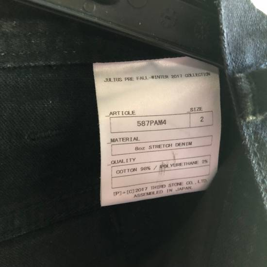 Julius 8oz Stretch Black Denim Size US 30 / EU 46 - 5
