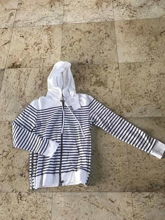 Balmain Stripe White & Grey Hoodie Size US S / EU 44-46 / 1