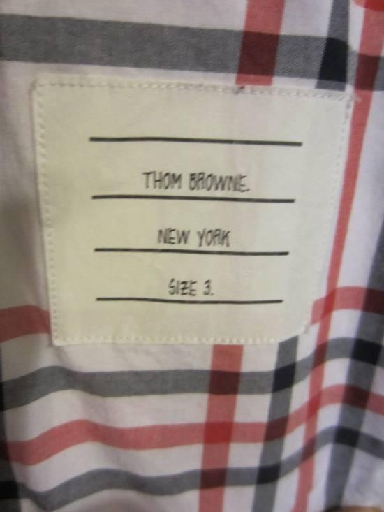 Thom Browne Classic Large Check Plaid Oxford Shirt Size US L / EU 52-54 / 3 - 4