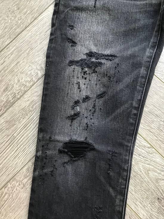 Balmain grey washed denim Size US 28 / EU 44 - 3