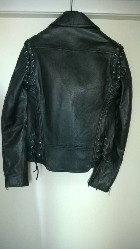 Balmain Sz 44 New Lambskin Biker Leather Jacket Size US XS / EU 42 / 0 - 7