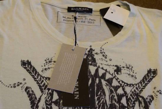 Balmain Balmain $350 Men's Buffalo printed T-shirt Size XS Brand New With Tags Size US XS / EU 42 / 0 - 4