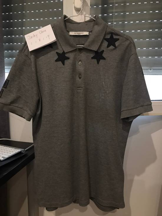 Givenchy Classic Grey Stars Polo 47 Cuban Fit Size US L / EU 52-54 / 3