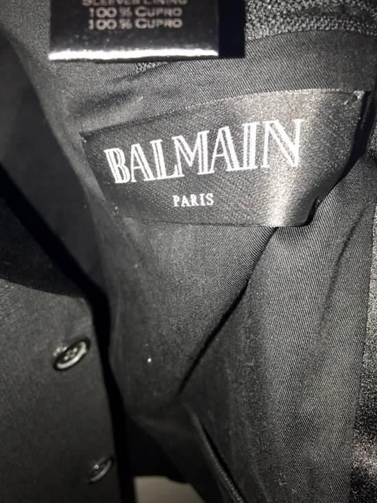Balmain 3500$ Tuxedo Jacket Size 50R - 5