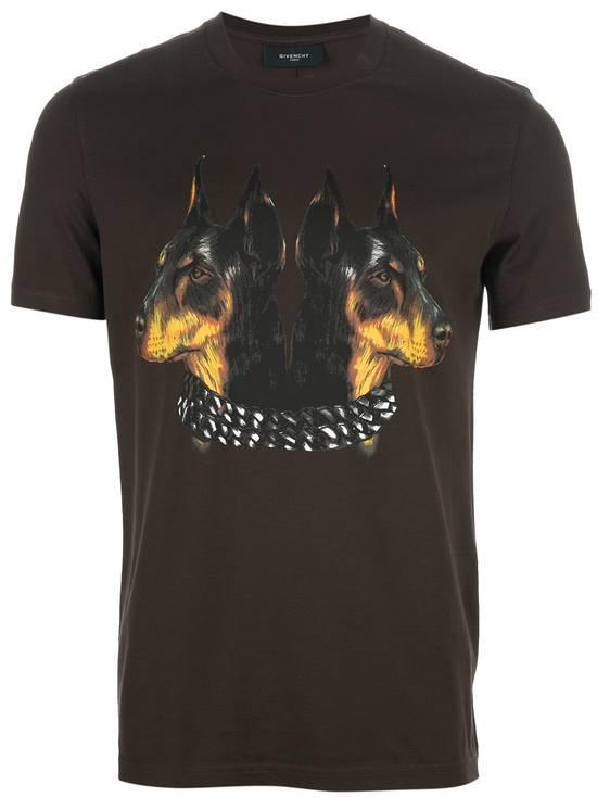 Givenchy Brown Doberman Print T-shirt Size US S / EU 44-46 / 1 - 1