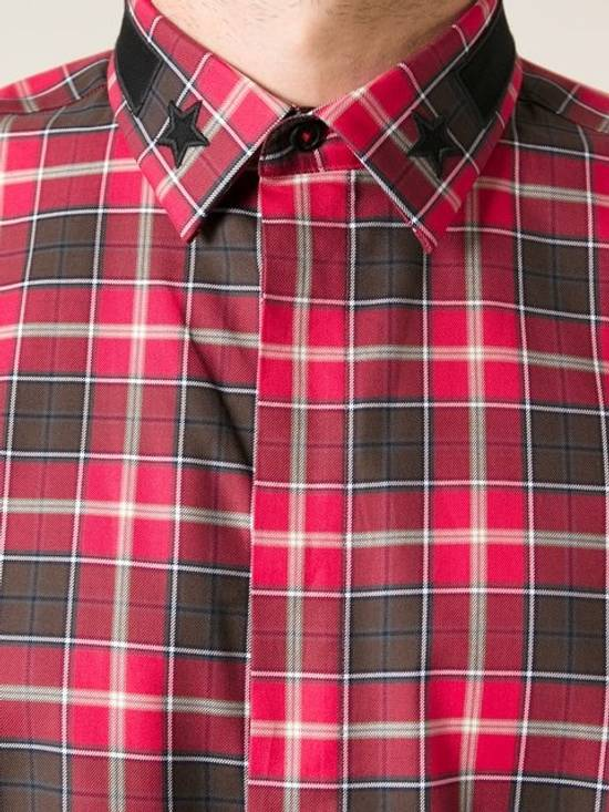 Givenchy Givenchy Red Plaid Flannel Shirt Size US XL / EU 56 / 4 - 1
