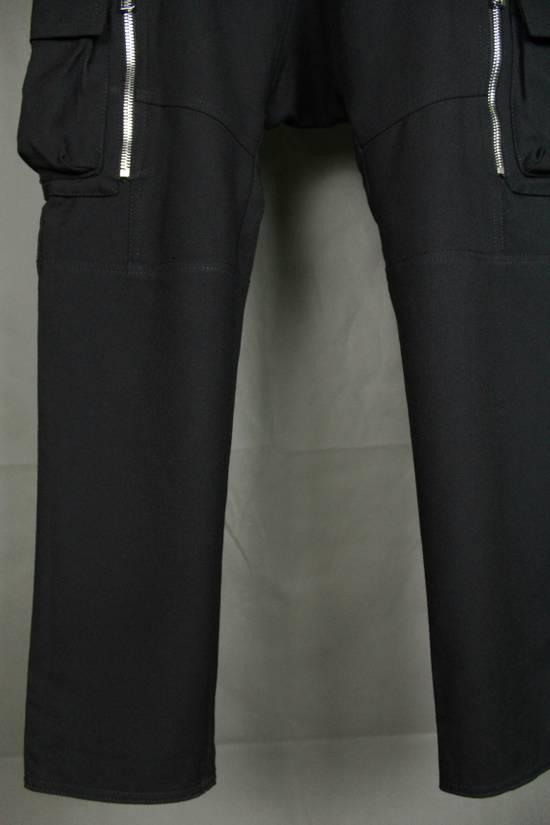 Balmain Balmain X H&M Cargo Biker Wool Pants Size EUR30 Size US 30 / EU 46 - 5