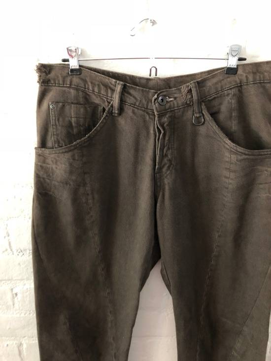 Julius Julius Manifesto Twisted Seam Denim (dust brown) Last Drop Size US 34 / EU 50 - 1