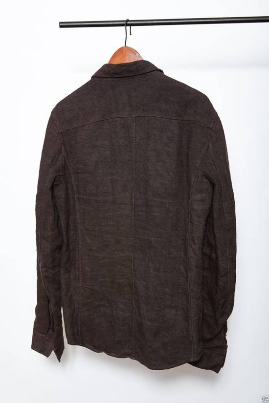 Carpe Diem L'maltieri Brown Linen Jacket Size US M / EU 48-50 / 2 - 9