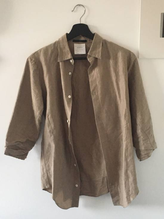 Julius 3/4 Sleeve Brown Button Up Shirt Size US XS / EU 42 / 0