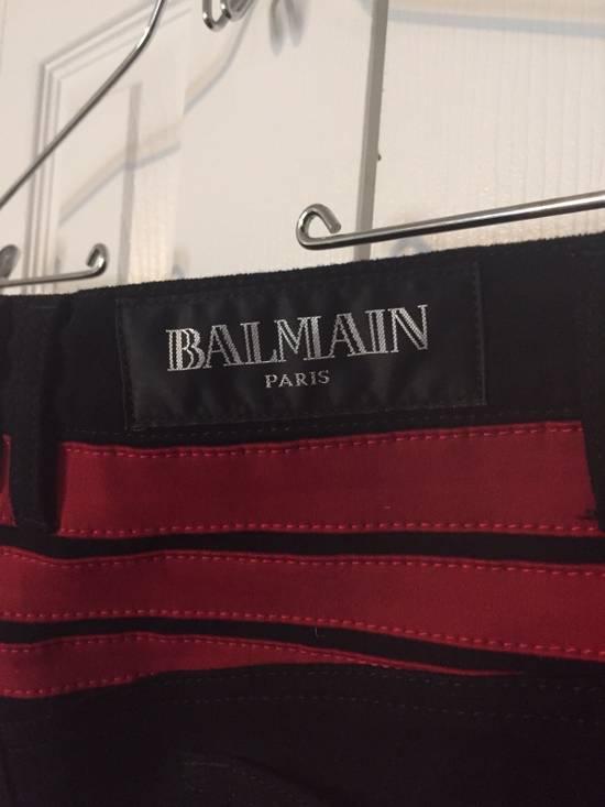 Balmain $1425 F/W 15 Biker 17cm Size US 30 / EU 46 - 8