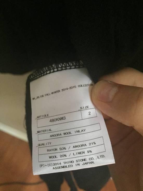 Julius Angora Wool Long Cardigan concealed placket Size US L / EU 52-54 / 3 - 9
