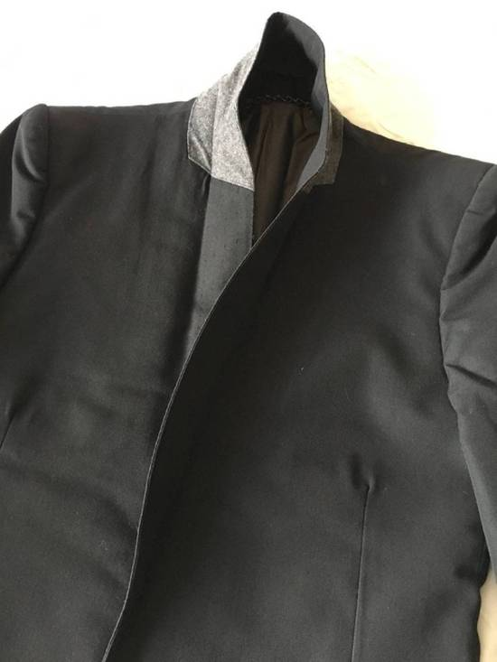 Julius Rare Japan made black fine wool tailored jacket in excellent condition Size 38R - 16