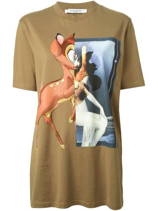 Givenchy Khaki Bambi T-shirt Size US XS / EU 42 / 0 - 1
