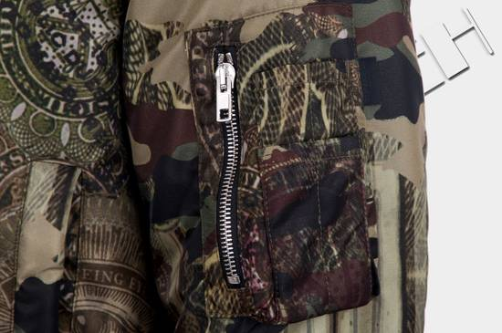Givenchy 2995$ American Dollar Camouflage Bomber Jacket Size US S / EU 44-46 / 1 - 8