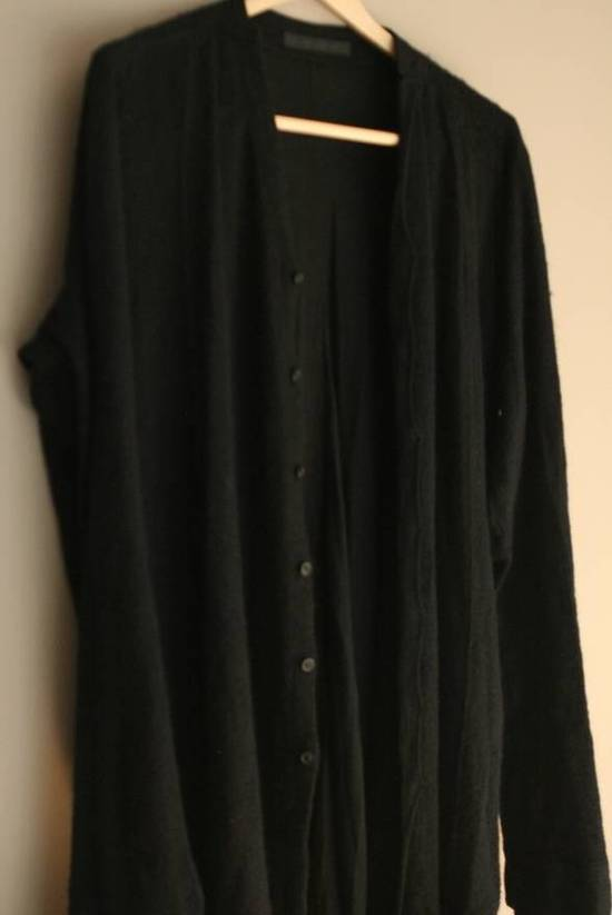 Julius Angora Wool Long Cardigan concealed placket Size US L / EU 52-54 / 3 - 2
