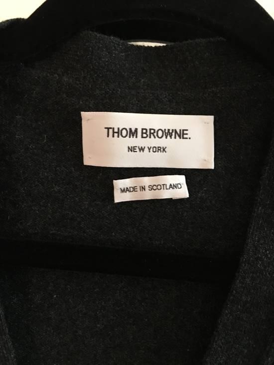 Thom Browne Dark Grey Cashmere Cardigan Size US M / EU 48-50 / 2 - 1