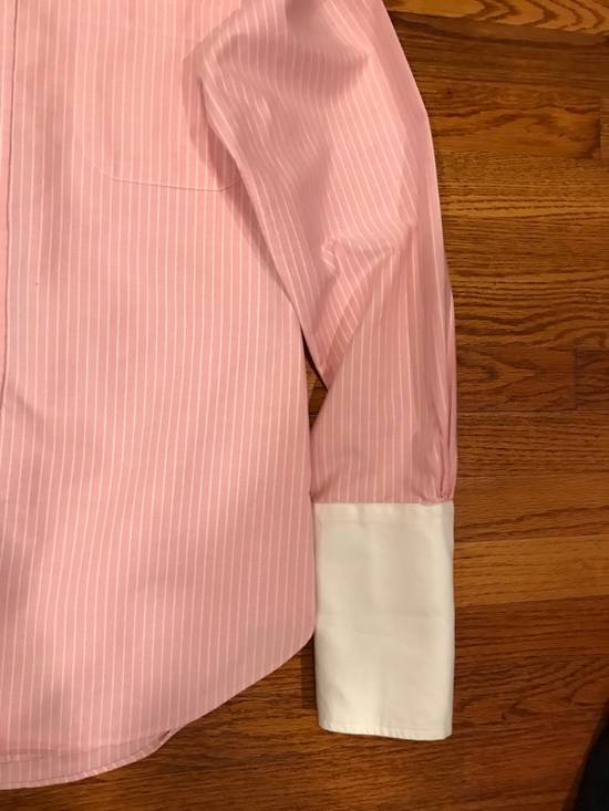 Thom Browne Pink French Cuff Shirt Size US S / EU 44-46 / 1 - 2