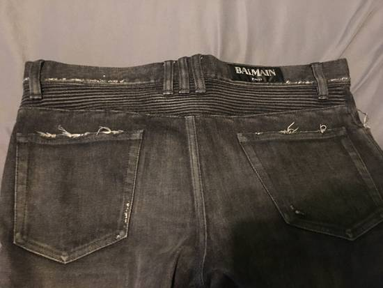 Balmain Balmain Black Biker Jeans Size 32 Size US 32 / EU 48 - 6