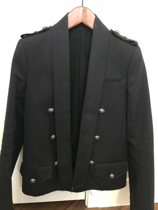 Balmain Raw Cotton Military Blazer / Jacket Size US S / EU 44-46 / 1 - 1