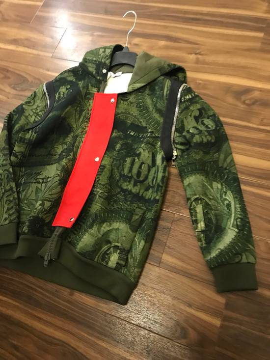Givenchy Padded Removable Sleeve C Note Printed Jacket Size US M / EU 48-50 / 2 - 1
