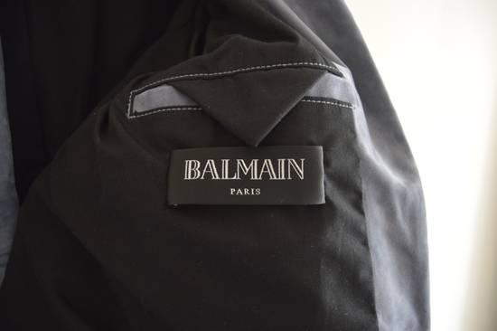 Balmain 1 of 1 Greyish Blue Suede Biker Size US M / EU 48-50 / 2 - 3